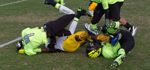 Youth tackle football concussions