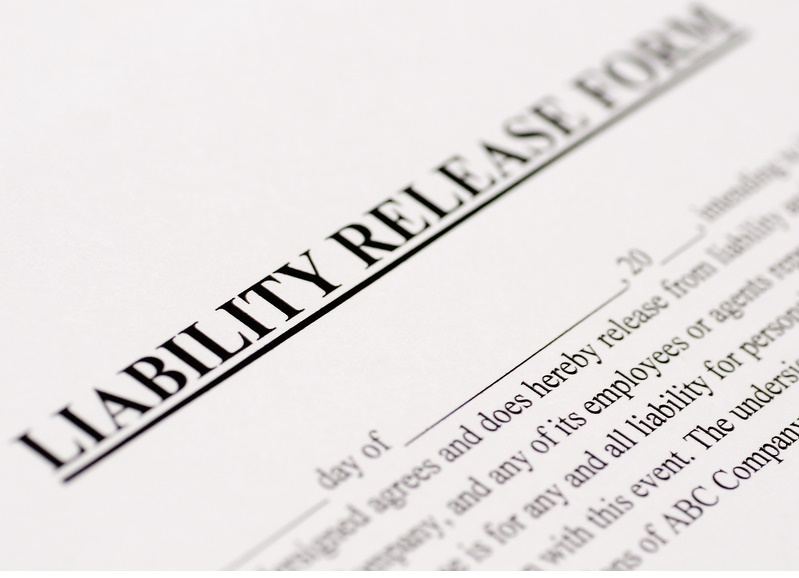 release of liability waiver form