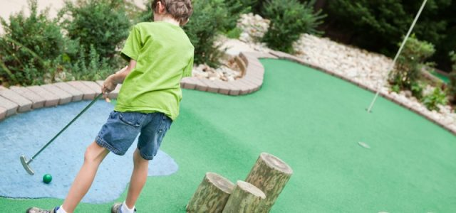 Miniature golf course insurance