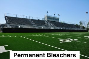 Permanent bleacher risk management