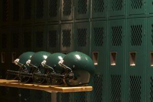Football helmet protection
